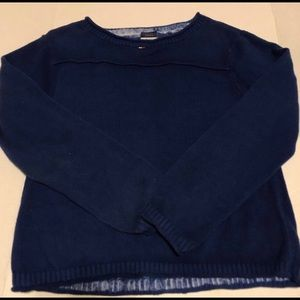 Vintage Tommy Jeans Womens XL Blue Sweater
